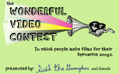 said the gramophone video contest, fan videos